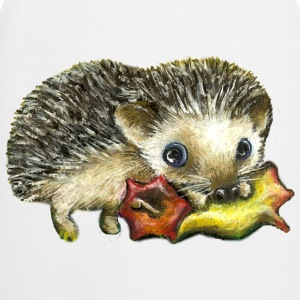 Little hedgehog and apple - Cooking Apron