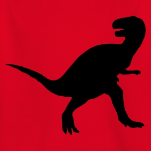 Rot Dinosaurier - Dino Kinder Shirts - Teenager T-Shirt