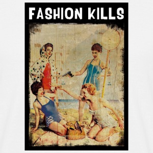 Fashion Kills - Männer T-Shirt
