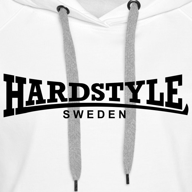Hardstyle Sweden -  Svart tryck - Flera tröjfärger