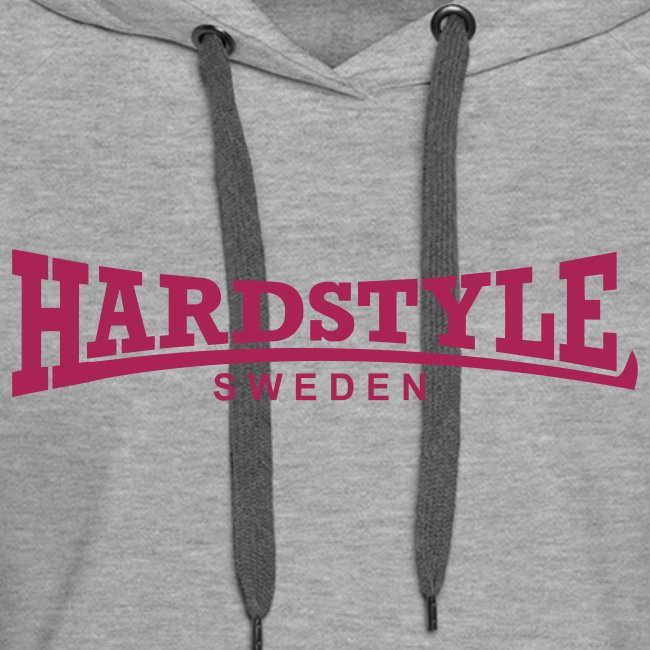 Hardstyle Sweden -  Rosa tryck - Flera tröjfärger