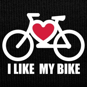 Zwart I like my bike Petten & Mutsen - Wintermuts