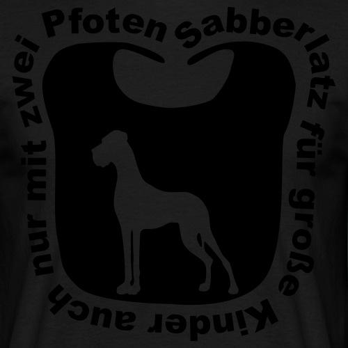 Sabberlatz für Doggen