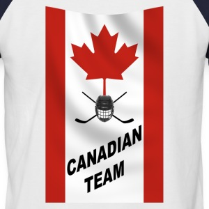 Canadian team - T-shirt baseball manches courtes Homme