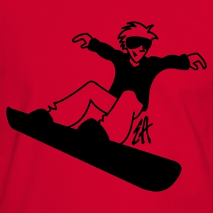 Snowboard - Men's Ringer Shirt
