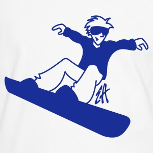 Snowboard - T-shirt contraste Homme