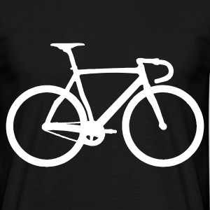 t-shirt bicyclette  de  course  de  fond - T-shirt Homme