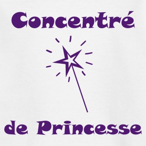 Tee shirt fille Concentré de Princesse - T-shirt Ado
