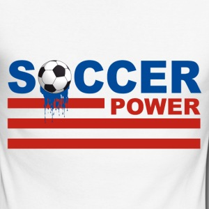 usa soccer - T-shirt baseball manches longues Homme