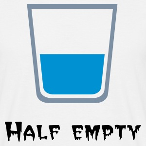 Half empty - Men's T-Shirt