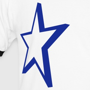 star - Men's Ringer Shirt