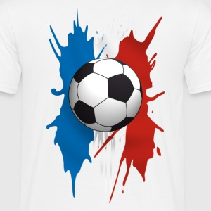 Blanc football T-shirts - T-shirt Homme