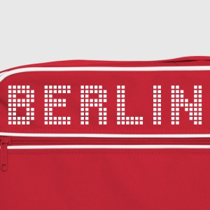 Red/white Berlin Bags  - Retro Bag