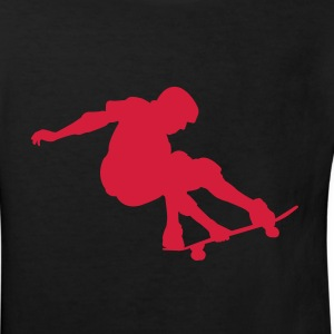 Skater - Skateboard - Skating Kinder Shirts Schwarz - Kinder Bio-T-Shirt