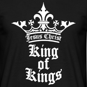 Schwarz king_of_kings T-Shirts - Männer T-Shirt