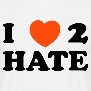 DE-I love 2 hate - Männer T-Shirt