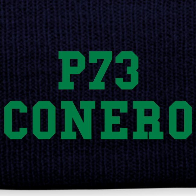 P73 Winter Cap Dark blue / Green