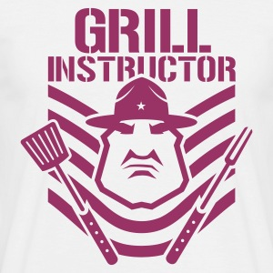 White grill instructor Men's T-Shirts - Men's T-Shirt