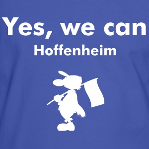 Hoffenheimfanshirt Yes, we can. - Männer Kontrast-T-Shirt
