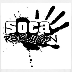 Soca Revolution T-shirt wt Text - T-shirt herr