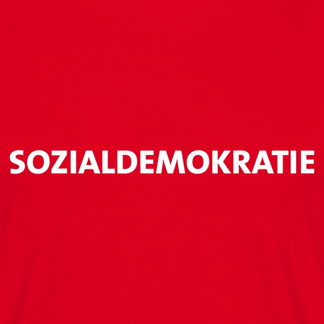 Sozialdemokratie - T-Shirt