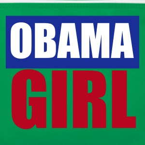 Light blue / white Barack Obama Girl Bags  - Retro Bag