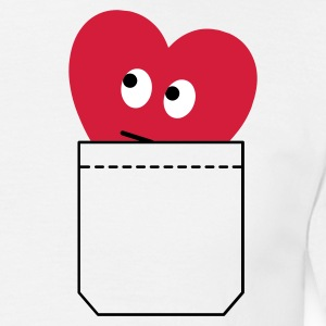 pocket heart - Men's T-Shirt