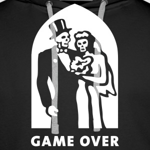 game_over Sweatshirts - Herre Premium hættetrøje
