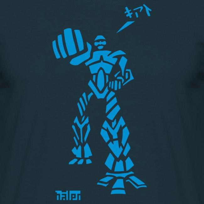 Robot - M T, Marine & Sky Velvet