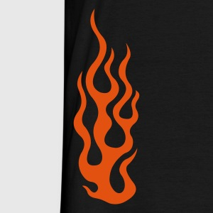 flames 3  - T-shirt herr