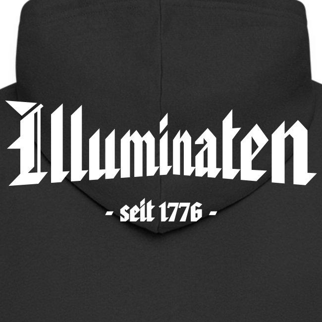 """Kapuzenjacke """"Illuminaten"""""""