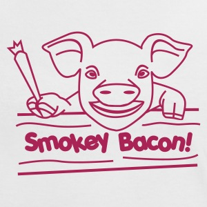 Smokey Bacon - Women's Ringer T-Shirt