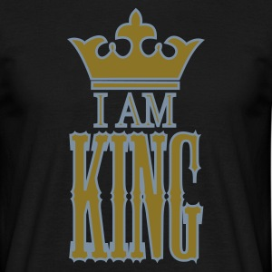 I am KING - Mannen T-shirt