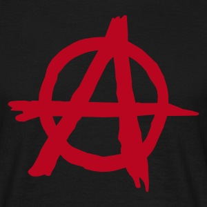 Black Anarchy Men's Tees - Men's T-Shirt