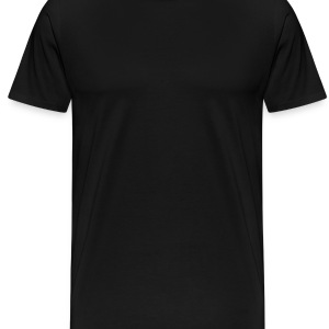 Black heart_lock Underwear - Men's Premium T-Shirt