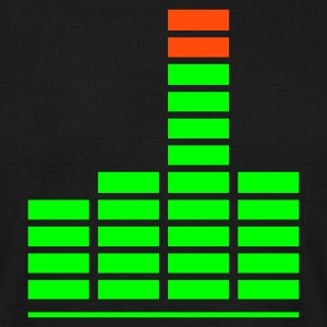 Equalizer Finger - Mannen T-shirt