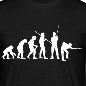 Snooker Evolution - Männer T-Shirt