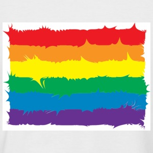 Pride Spikey - Men's Baseball T-Shirt
