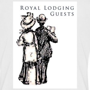 White/black Royal Guests Women's Tees - Women's Ringer T-Shirt