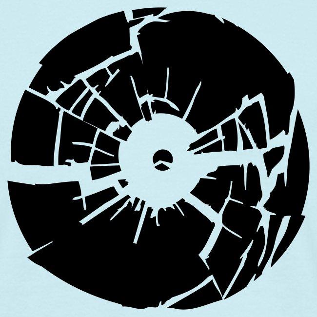 Broken Vinyl (black)