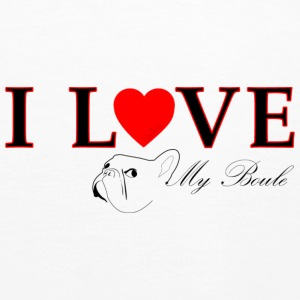 I love my boule 2 Sweat-shirts - Sweat-shirt à capuche Premium pour femmes