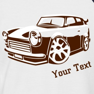 Retro car - Männer Baseball-T-Shirt