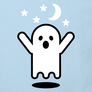 Celeste Glow in the dark ghost Kinder shirts - Kinderen Bio-T-shirt