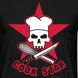 cook_star T-shirts - Herre-T-shirt