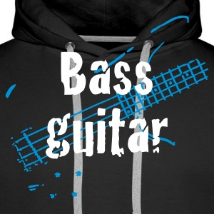 bass_guitar Gensere - Premium hettegenser for menn