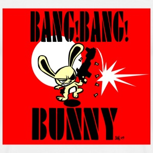 White BANG!BANG! BUNNY! Men's Tees - Men's T-Shirt