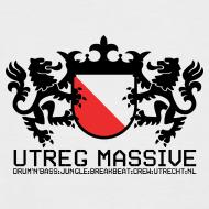 Design ~ Utreg Massive Baseball Tee (Red/White)