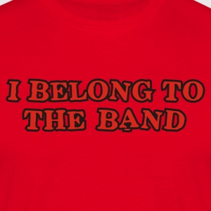 Rot i_belong_to_the_band Pullover - Männer T-Shirt