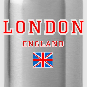 Black London, England Jumpers  - Water Bottle
