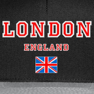 Black London, England Jumpers  - Snapback Cap